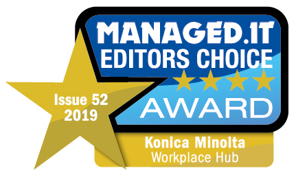 Managed IT Editor's Choice 2019. Konica Minolta Workplace Hub