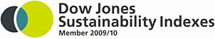 Dow Jones Sustainability Indexes. Member 2009/10