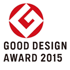 Good Design Award 2015.