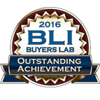 2016 BLI Buyers Lab. Outstanding Achievement.