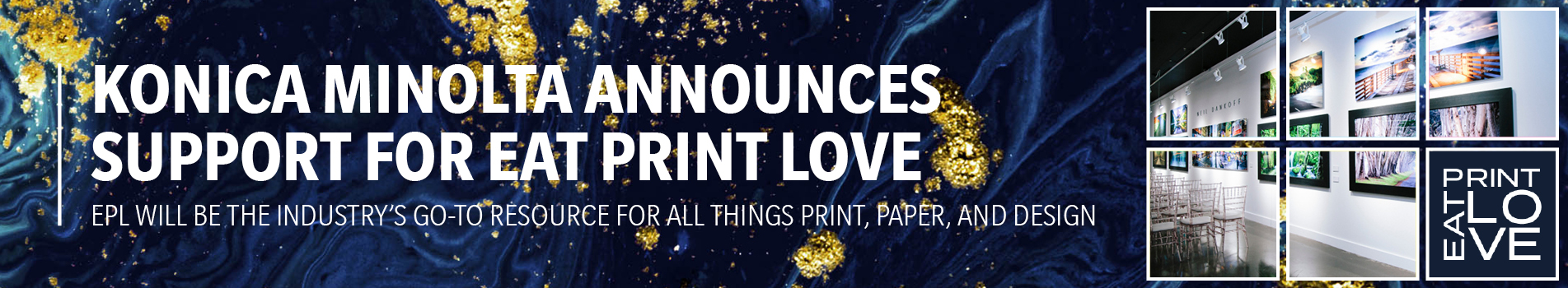 Konica Minolta Announces Support for Eat Print Love