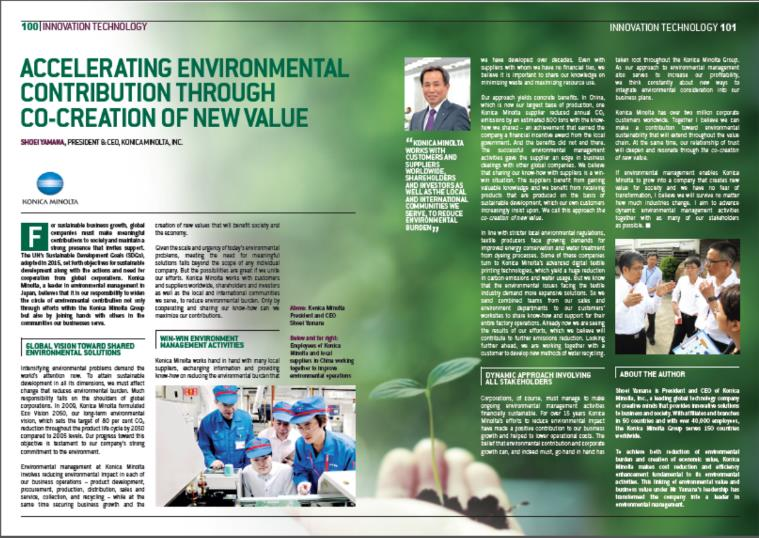 Accelerating Environmental Contribution through Co-Creation of New Value