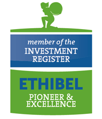 member of the Investment Register. Ethibel Pioneer & Excellence