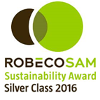 RobecoSAM Sustainability Award. Silver Class 2016.