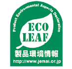 Product Environmental Aspects Declaration. Eco Leaf.