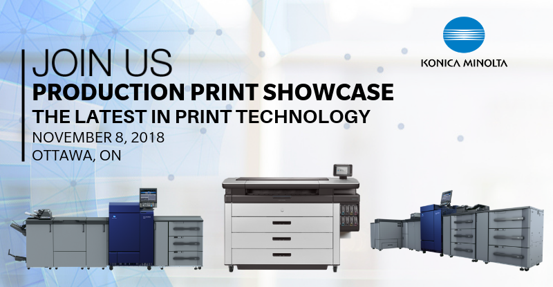 Production Print Showcase - The Latest in Pring Technology