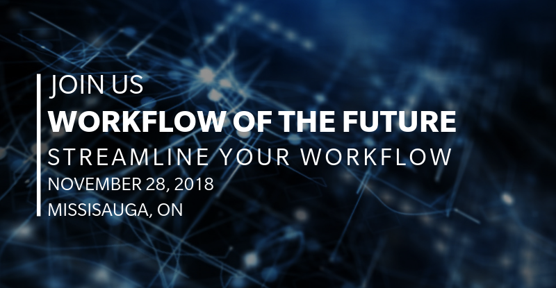 Join us. Workflow of the future Streamline your workflow