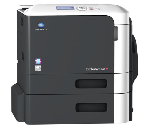 bizhub C3100P Compact Colour Laser Printer. Konica Minolta ...