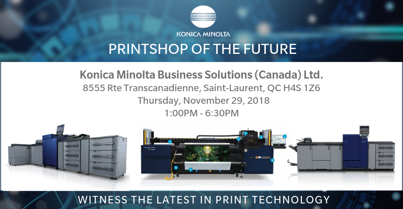 Printshop of the Future. Witness the latest in print technology
