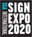 ISA Sign Expo 2020 Logo