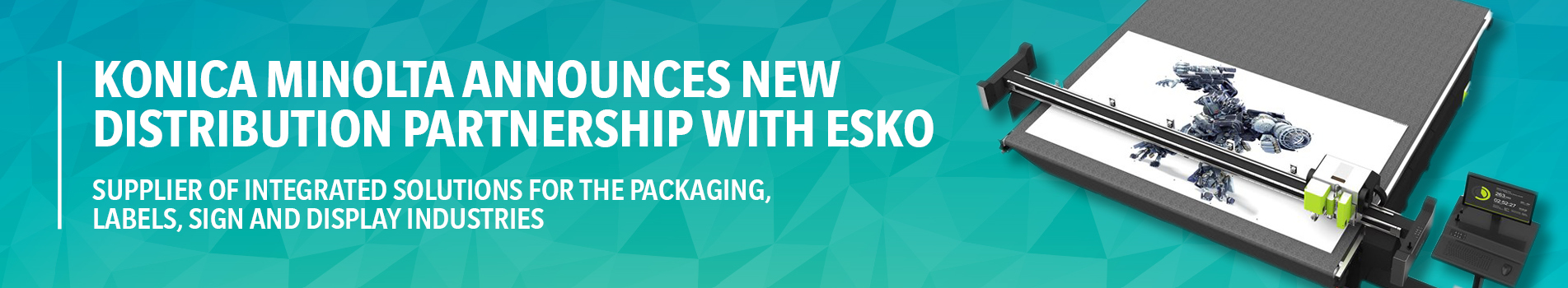 Konica Minolta Announces New Distribution Partnership with Esko