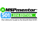 MSPmentor. 501 2016 Edition. The Ultimate Guide to the World's Best MSPs.