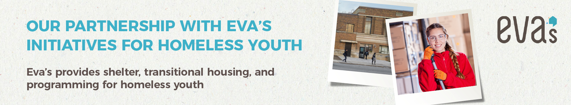 Konica Minolta Announces Partnership with Eva's Initiatives for Homeless Youth
