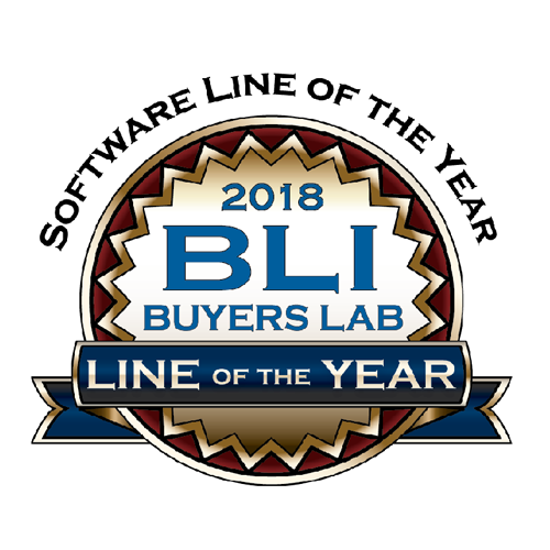 Software Line of the Year 2018 from Buyers Lab