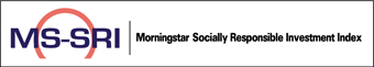 MS-SRI. Morningstar Socially Responsible Investment Index